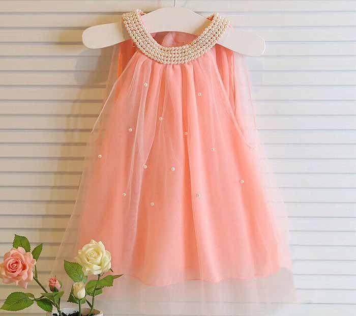$12.99 (Buy here: https://alitems.com/g/1e8d114494ebda23ff8b16525dc3e8/?i=5&ulp=https%3A%2F%2Fwww.aliexpress.com%2Fitem%2FBaby-girls-sleeveless-dress-white-pink-dot-lace-princess-party-pearls-floral-dress-summer-clothes-infant%2F32278441790.html ) Baby girls sleeveless dress white pink dot lace princess party pearls floral dress summer clothes infant children clothes 2015 for just $12.99
