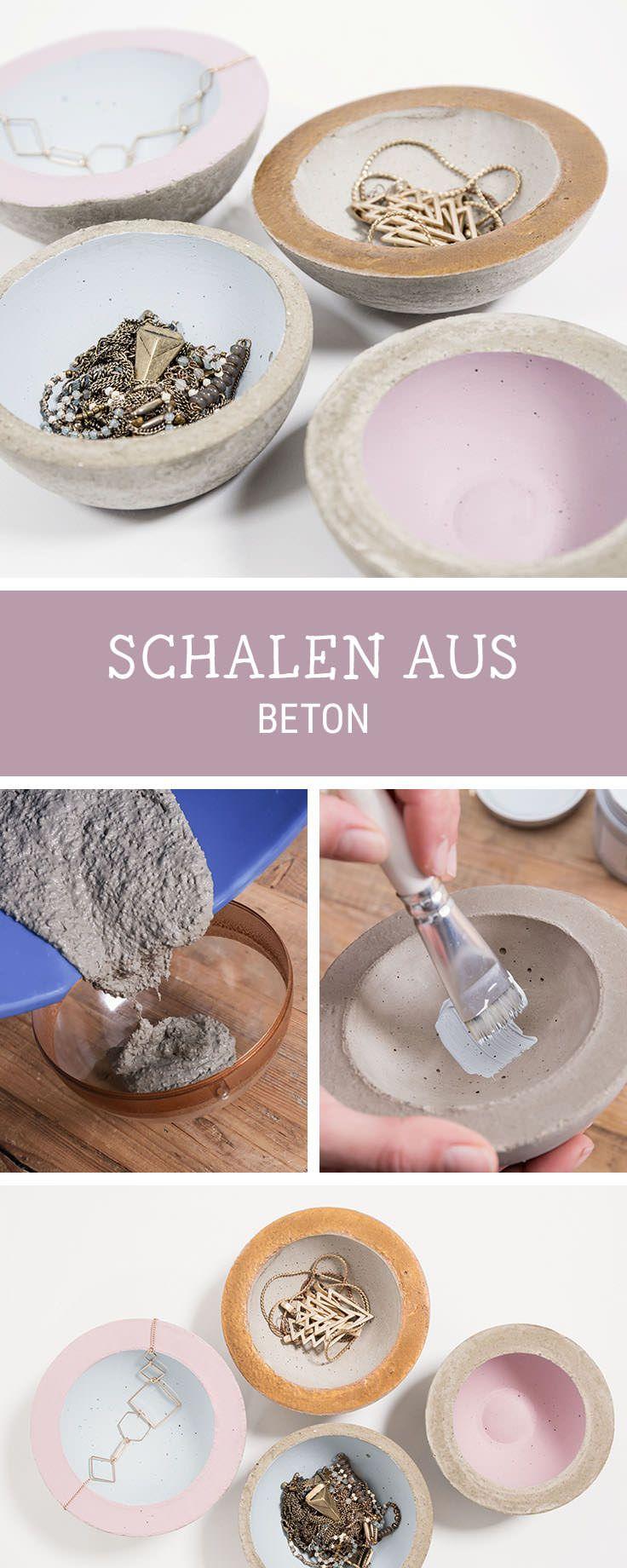 DIY Anleitung: Kleine Schalen Aus Beton Herstellen Via DaWanda.com