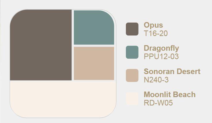 Behr Paint Colors 2016 Opus Dragonfly Sonoran Desert Moonlit Beach Beach Behr Behrpaintcolor Colo Behr Paint Colors Behr Paint Paint Colors For Home
