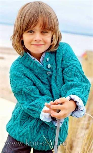 Вязание детские свитера по журналу