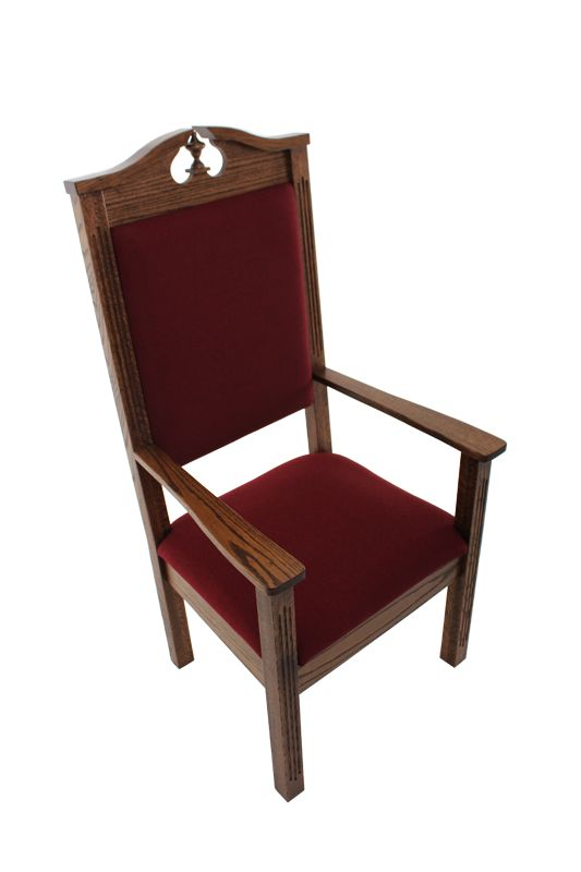 Church Furniture Store   Ministers Pulpit Chairs Model 548