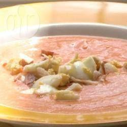 Salmorejo (Spaanse koude tomatensoep) @ allrecipes.nl