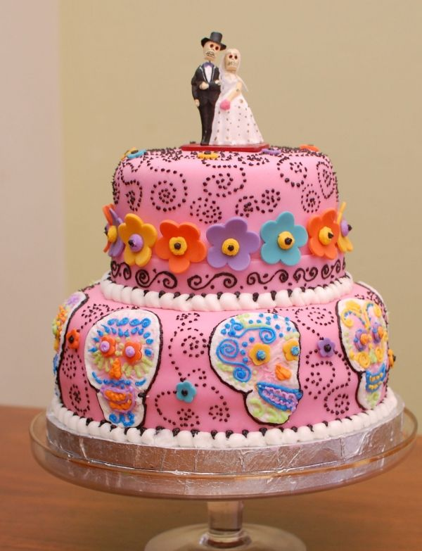 28 best skeleton wedding cake toppers images on Pinterest ...
