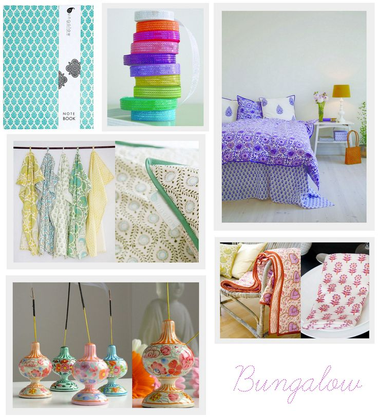 Bungalow textiles from Denmark