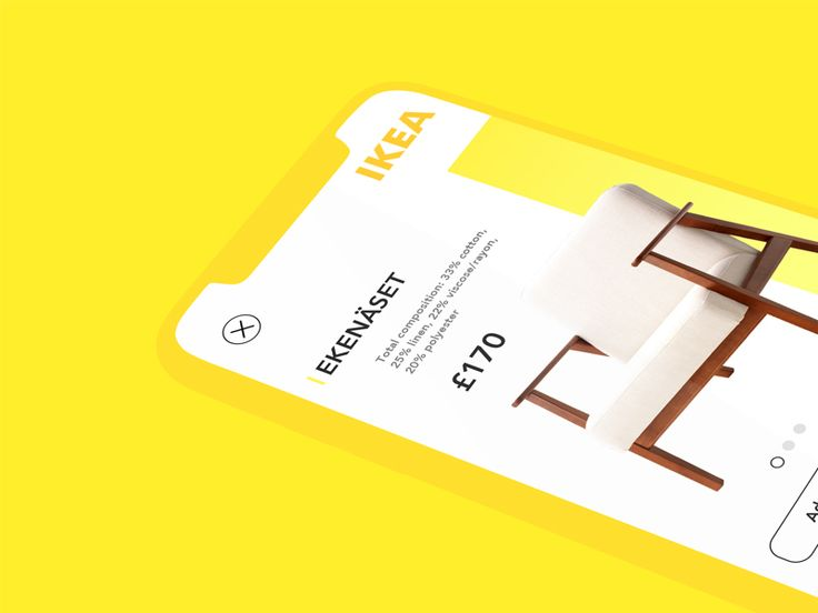 IKEA App UI Concept