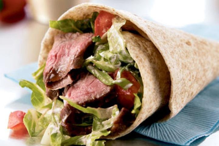 Steak Wraps for the Weight Watcher http://www.yummly.com/recipe/Steak-Wraps-For-The-Weight-Watcher-Recipezaar
