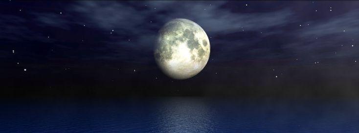 Moonlight Ocean Timeline Cover - Facebook timeline covers maker
