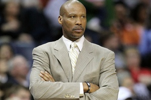 Cleveland Cavaliers Head Coach Byron Scott (formerly a L.A. Laker)