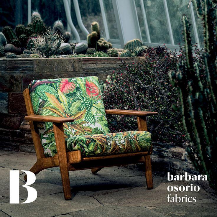 Equador collection 2015 by barbara osorio fabrics - B106 Príncipe printed linen