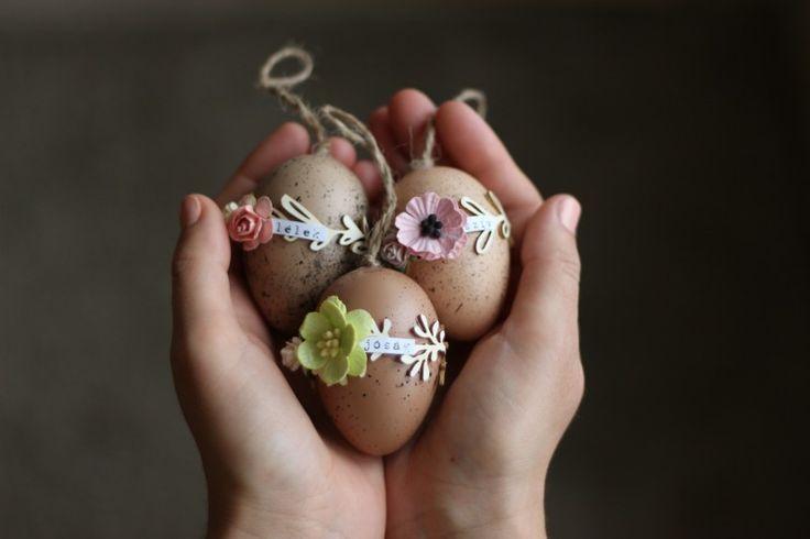 Easter eggs by Fraupester