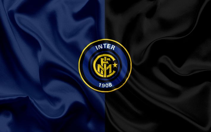 Download wallpapers Inter Milan, football club, Internazionale, emblem, logo, Serie A, Italy, football
