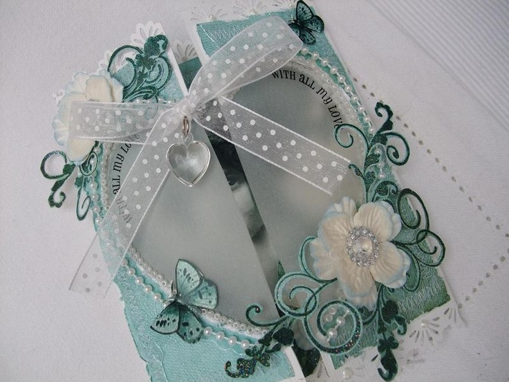 Card Making Ideas Using Vellum Part - 43: Love Her Use Of Vellum. Valentine CardsHandmade ...