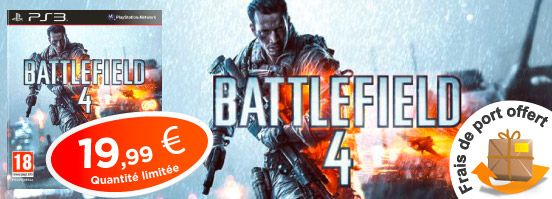 #Battlefield4 sur #PS3 à prix cassé !  #PlayStation3 #BF4 #Battlefield #Soldes #Soldes2014 #BonPlan
