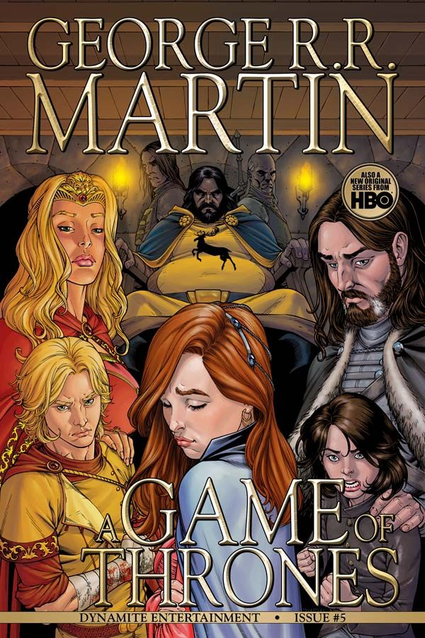 Badass Comic Book Cover: Game of Thrones