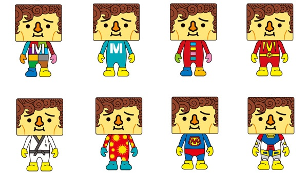 Mika to-fu dolls