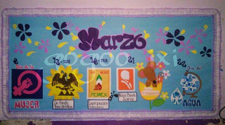 Periodico mural marzo