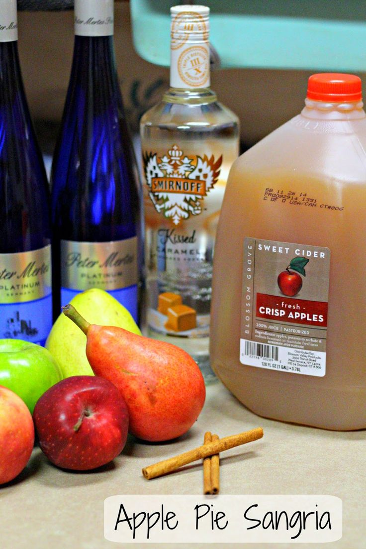 Gracefullee Made: Apple Pie Sangria Recipe