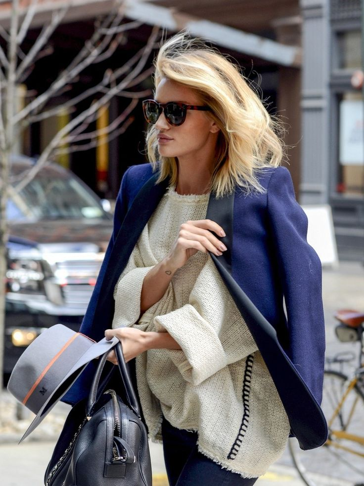 street style l rosie huntington-whiteley.