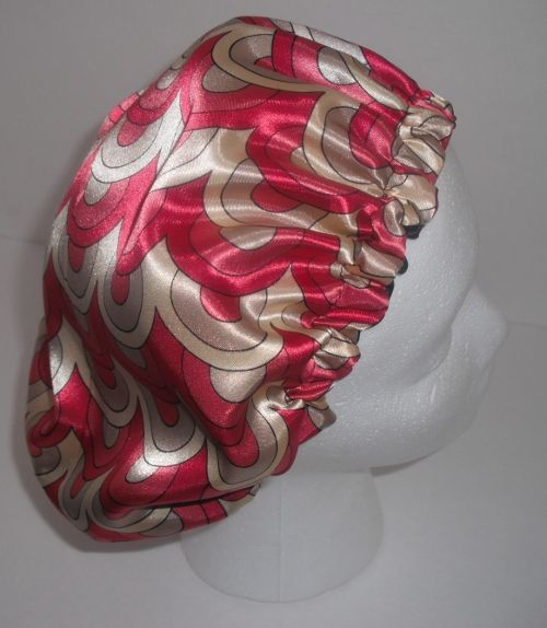 Afewweeks ago I came up with a design for satin caps but I did not post the pattern. Materials Needed 1 yard Satin or silk charmeusse 1 yard 1/2 inch wide elastic Matching thread for sewing.  The pattern is basically a 20 inch diameter circle, but if you want you can download the pattern [...]