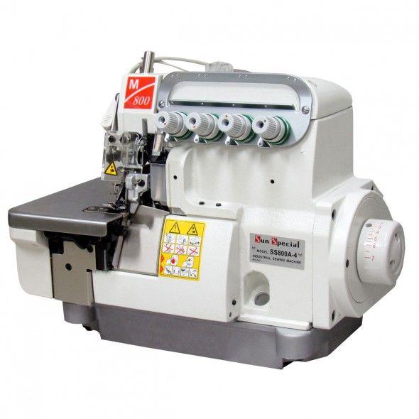 Máquina de Costura Industrial Interloque com Motor Direct Drive