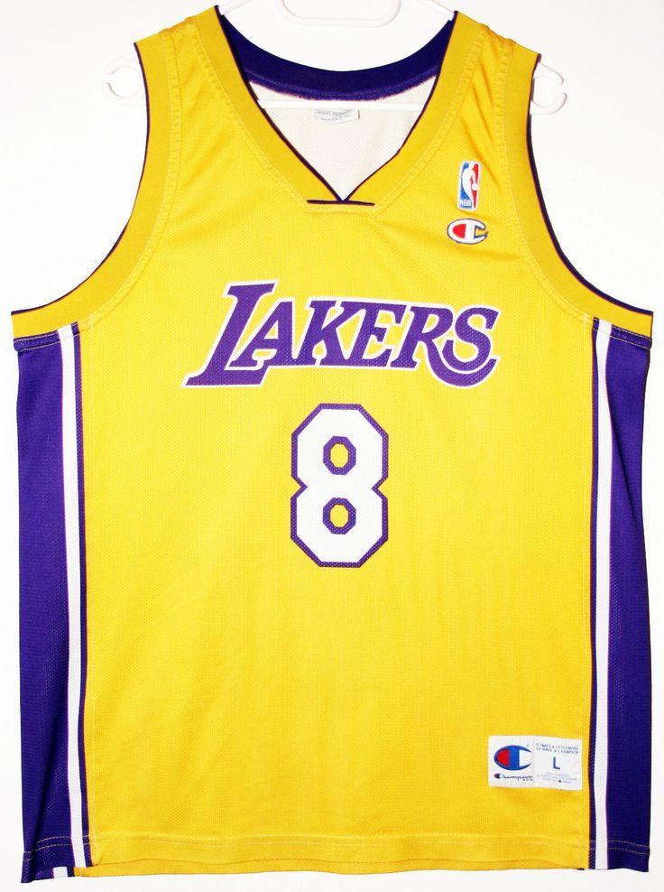 Nba Basketball Los Angeles Lakers: Champion NBA Basketball Los Angeles Lakers #8 Kobe Bryant