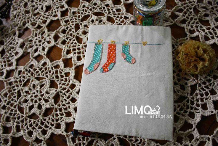 Sock2   35K   bahan : kain belacu   check this limo-made.blogspot.com #handmade #coverbinder #sampulbinder #limitededition #semarang #indonesia #limomade