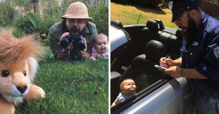 Un papa déguise sa fille et met en scène des situations bien trop mignonnes et hilarantes