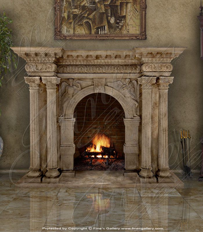 9 best Fireplace images on Pinterest | Marble fireplaces, Marbles ...