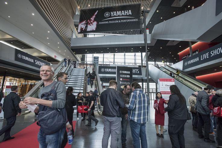Yamaha at Musikmesse 2018 and Prolight + Sound