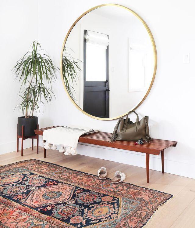 Fondre pour un miroir tout en rondeur