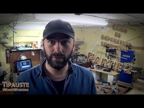 Tipauste WoodWorking - Partie 02 - Defonceuse Black&Decker KW900EKA Sous Table - YouTube