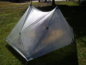 New gear for the Challenge - Hexamid Duplex Cuben Fiber Tent: spacious, waterproof, and ONLY 20 ounces!