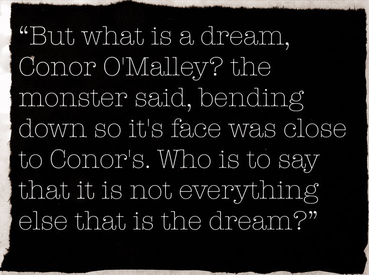 - A Monster Calls, Patrick Ness