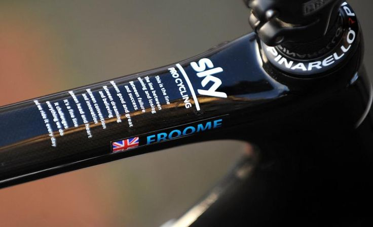 Fabulous My new bike for Perfection exists FNaturalBornWinner Pinarello pinarello official Merkabici Pinterest Chris froome and Cycling