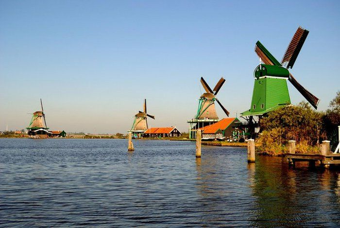 I 10 mulini a vento più belli d'Europa - Nel Mondo - ANSA.it