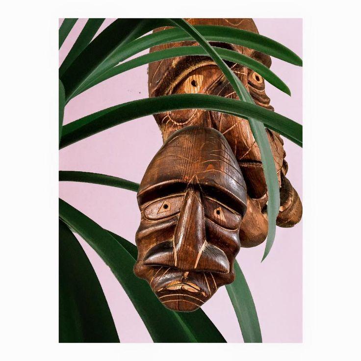 Wooden face http://nmartgallery.com/150-1/wooden-face Natacha Mathiassen