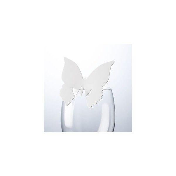 Questo segnaposto pratico ed originale è realizzato in carta è presenta un design  a forma di Farfalla dove poter scrivere il nome del vostro invitato lasciando ad  amici e parenti un simpatico ricordo.   Colore: Bianco     Venduto in confezioni da 10 pezzi.   Non vendibile singolarmente.   Il prezzo si riferisce ad un pacco contenente 10 segnaposto.   Misure: 8 x 8 cm.