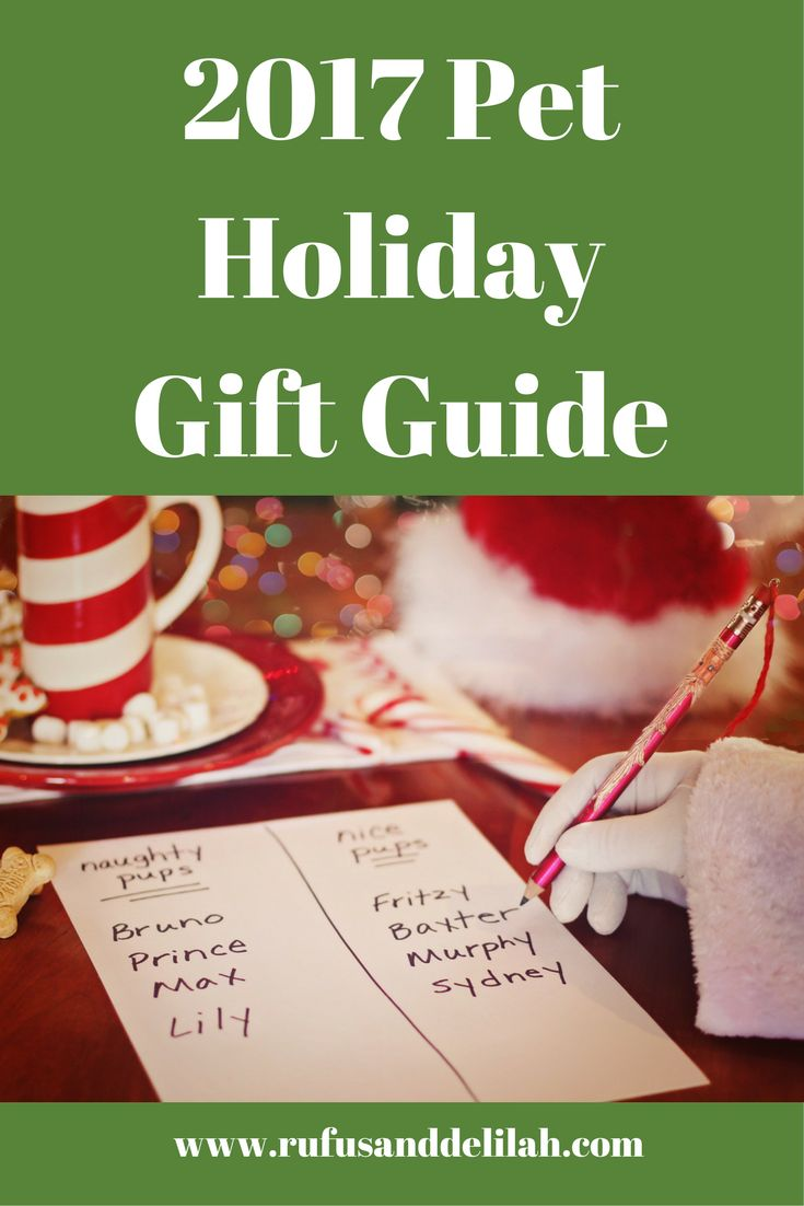 Do you give your dog or cat a present at the holidays?  If you are in search of the perfect gift to give to your fur-kid, check out our 2017 Pet Holiday Gift Guide to help make this holiday season a memorable one.