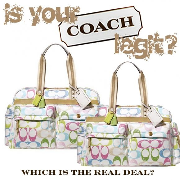 "LONDON'S 411 ON THE ""COACH"" DESIGNER HOUSE & COACH OUTLETS ONLINE [IS WHAT YOUR PURCHASING LEGIT?]"