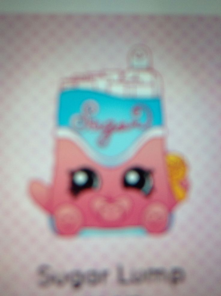 Sugar Lump. ShopkinsSugar