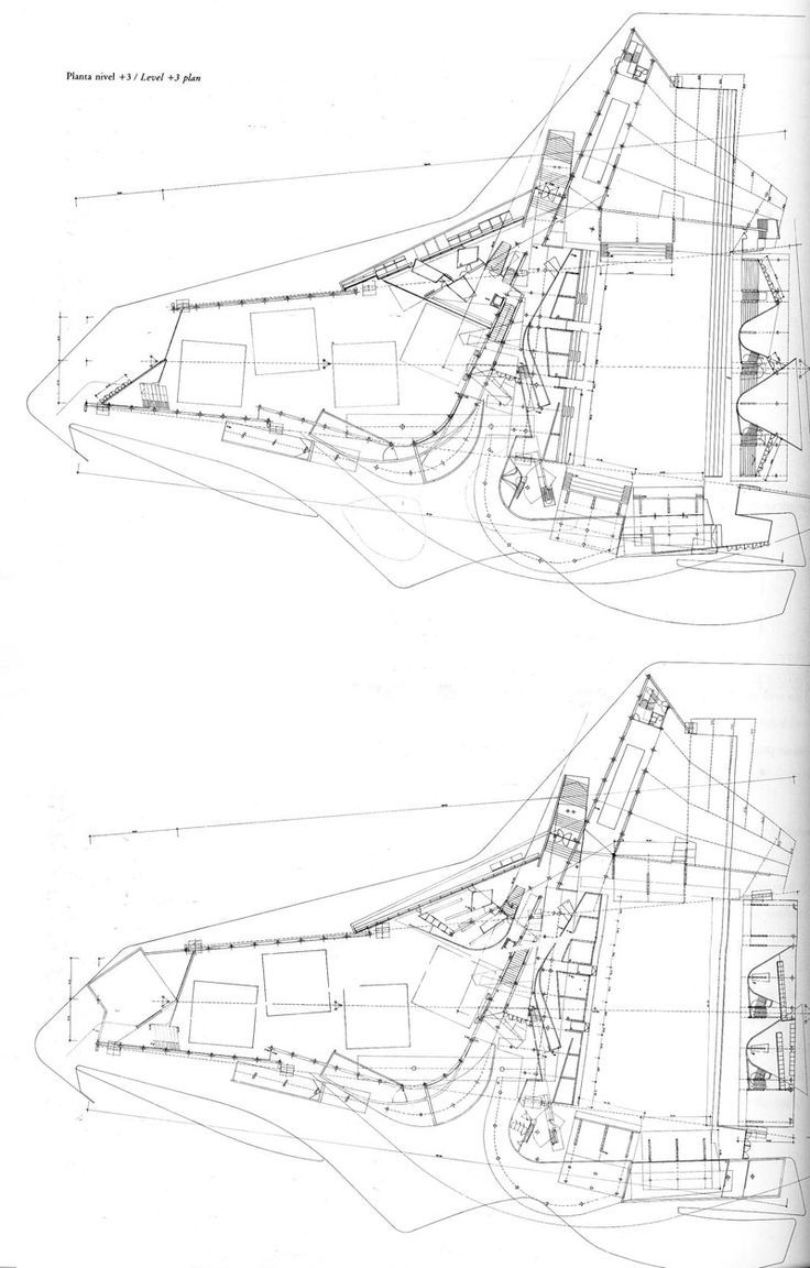 Plan as map the funambulist on miralles
