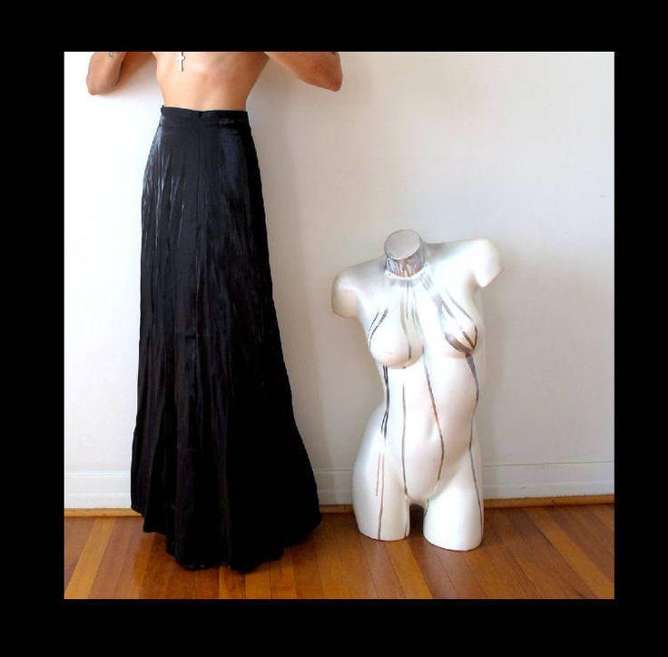"waist 26"" / 27"" black sparkle maxi skirt shiny skirt minimalist party skirt going out skirt sparkle maxi skirt shiny black minimalist skirt by shadyville on Etsy"