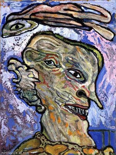 Lucebert (1924-1994) - 1976 Odysseus (Schleswig-Holstein Museum, Germany) by RasMarley, via Flickr