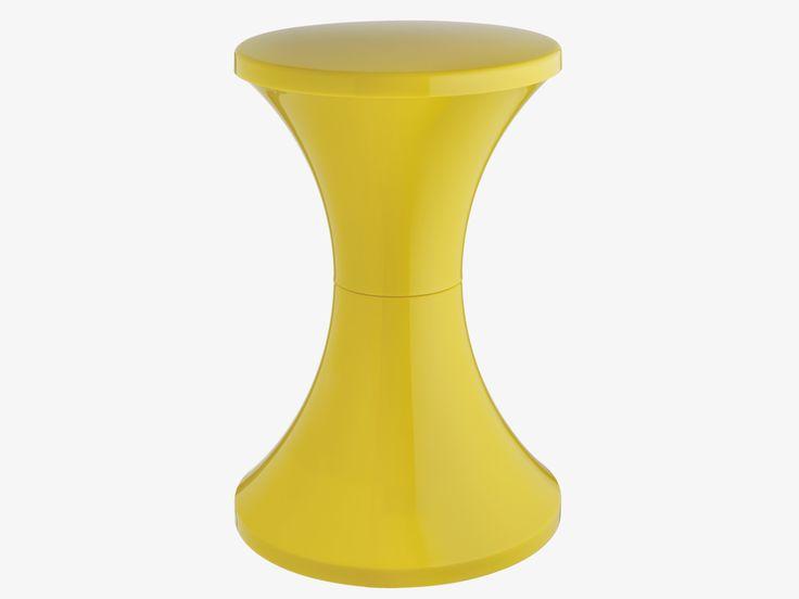 TAM TAM YELLOWS Plastic Yellow plastic stool - Furniture- HabitatUK #habitatpintowin