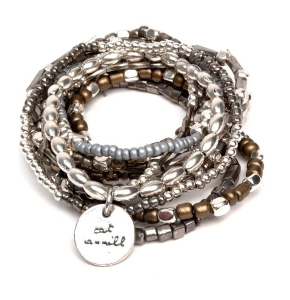 Cat Hammill Arizona Bracelet Set in Mocha $89.95