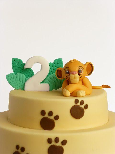 Peaceofcake ♥ Sweet Design: Simba's Cake • Bolo Simba