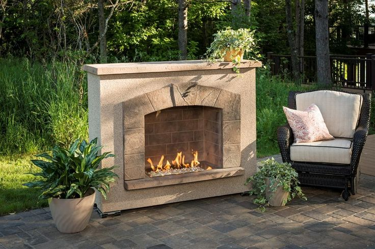 Stone Arch Outdoor Gas Fireplace Stonearchfp 1224 K Gas Fireplace Can Operate For Up To