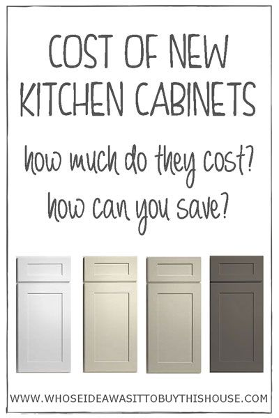 Best Curious About How Much New Kitchen Cabinets Cost Find Out 400 x 300