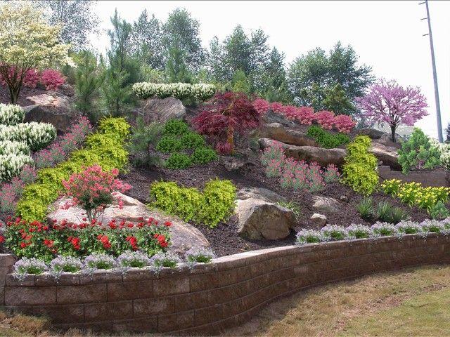 Gorgeous Backyard Hillside Landscaping Ideas Backyard Hillside Landscaping Pictures Pdf Jardineria En Macetas Lechos De Jardin Elevados Puente De Jardin