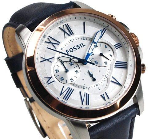 Fossil Grant FS4930 Men's Chronograph Watch - hirawatch.com